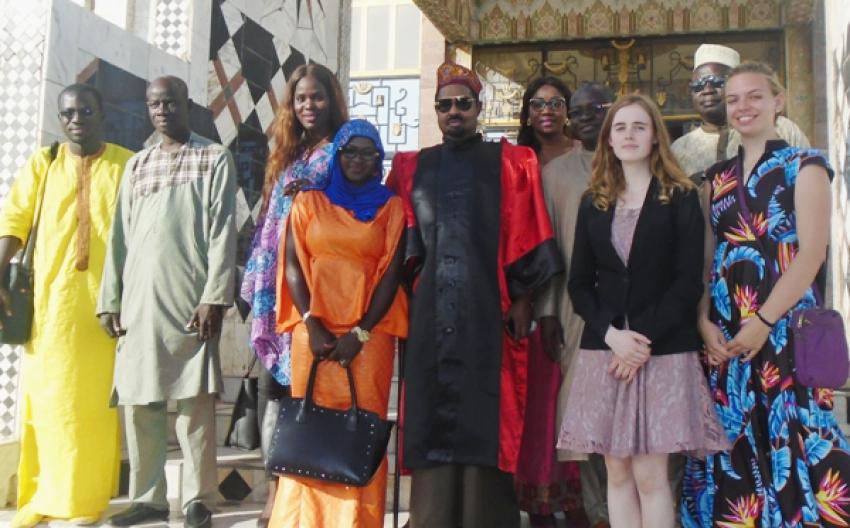 L'équipe de Timbuktu Institute félicite Ahmed Khalifa Niasse pour son Doctorat Honoris Causa