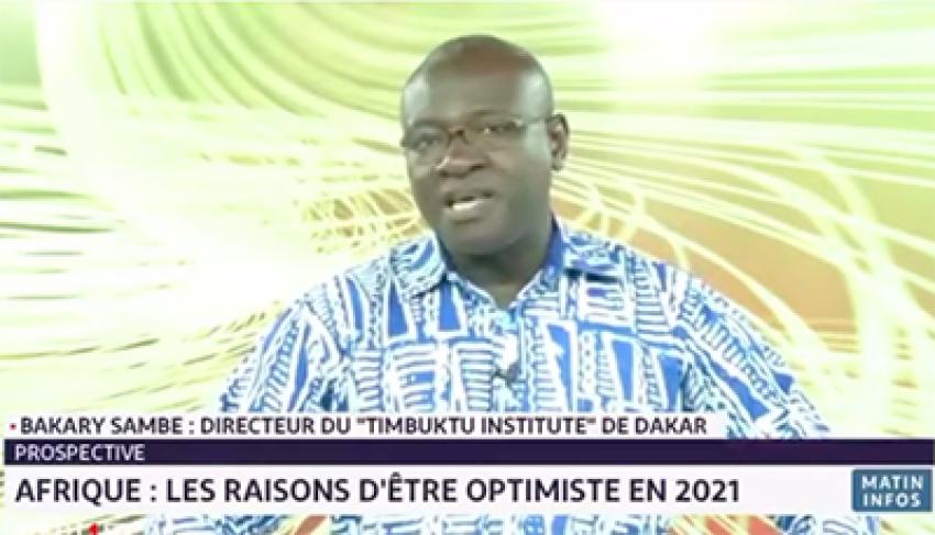 L'hebdo africain: « Quelles raisons d'être optimistes en 2021? » Dr Bakary SAMBE