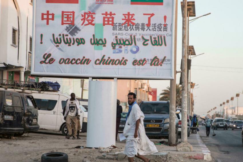 Les Mauritaniens se fient en premier lieu à leur entourage pour s'informer sur la pandémie