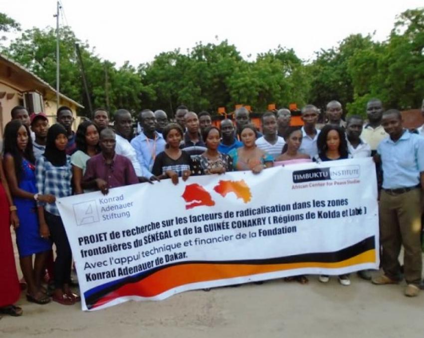 Timbuktu Institute poursuit la cartographie des zones frontalières en rapport avec les problématiques juvéniles