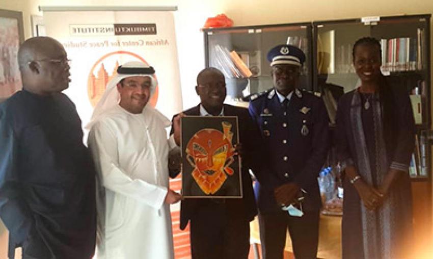 Visite de l'Ambassadeur des Emirats Arabes Unis à Timbuktu Institute