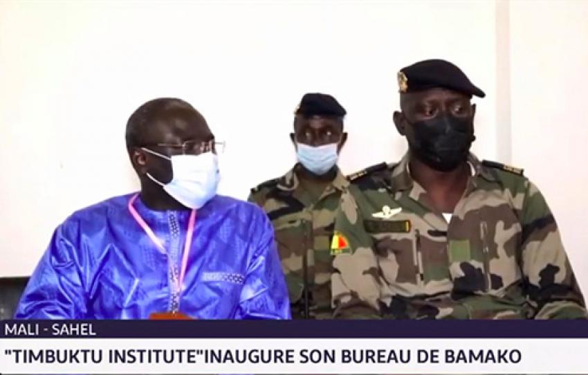 Les autorités maliennes se félicitent que Bamako accueille le Bureau Mali et Sahel du Timbuktu Institute (Vidéo)