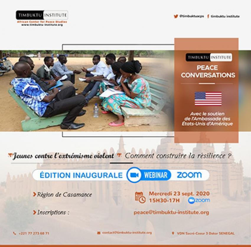 Ziguinchor accueille les premières «Conversation sur la paix et contre l'extrémisme violent»