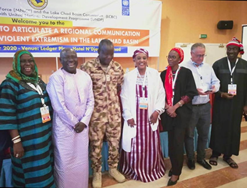 The Director of the Timbuktu Institute has facilitated a Regional Workshop on communication strategy to prevent violent extremism in the Lake Chad Basin