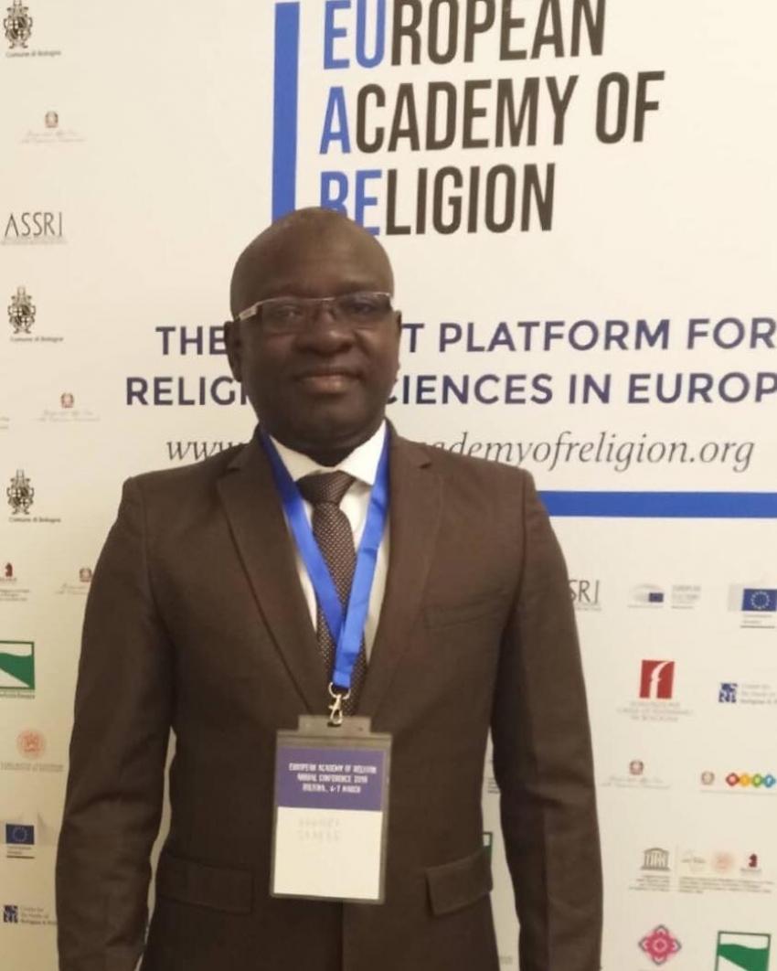 Dr.Bakary Sambe à l'Académie européenne de Religion (Italie): «L'Europe ne doit pas céder à la tentation du populisme et de la xénophobie»