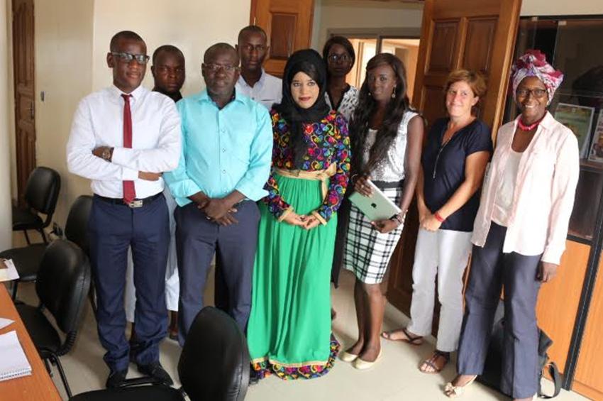 L'africaniste émiratie Amina Alarimi séjourne à Timbuktu Institute