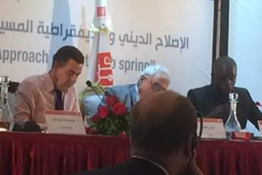 Timbuktu Institute en Tunisie pour le colloque international «Réforme religieuse, démocratie chrétienne et islam politique»