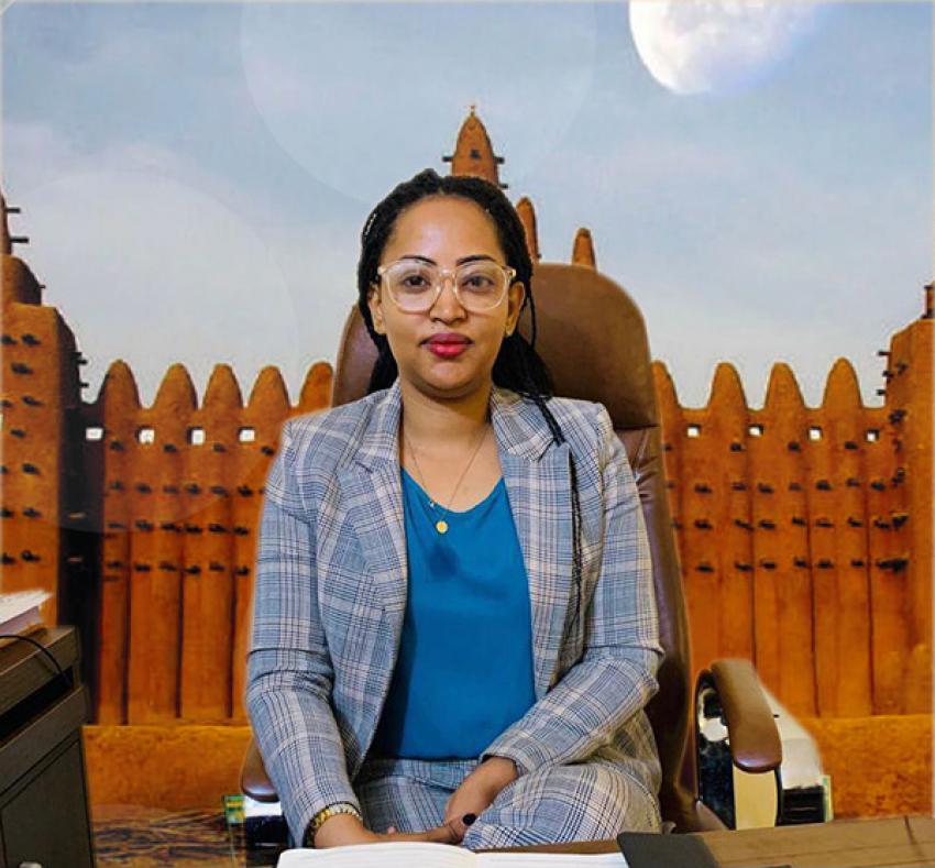 Fatima Al-Ansar (directrice de Timbuktu Institute-Mali), appelle les structures maliennes de résolution des conflits à «une synergie des efforts dans le cadre d'une coalition inclusive d'acteurs»