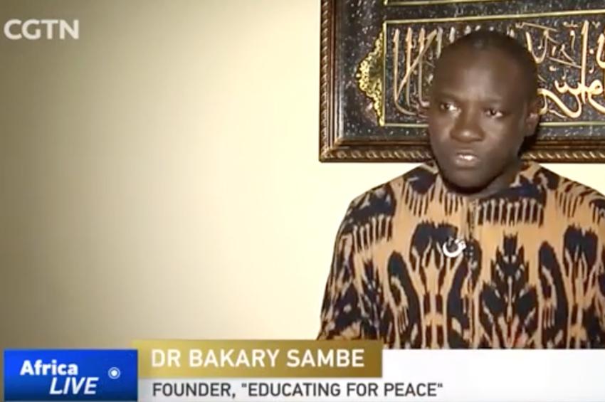 CGTN salue L'innovation sénégalaise en matière de prévention de l'extrémisme violent