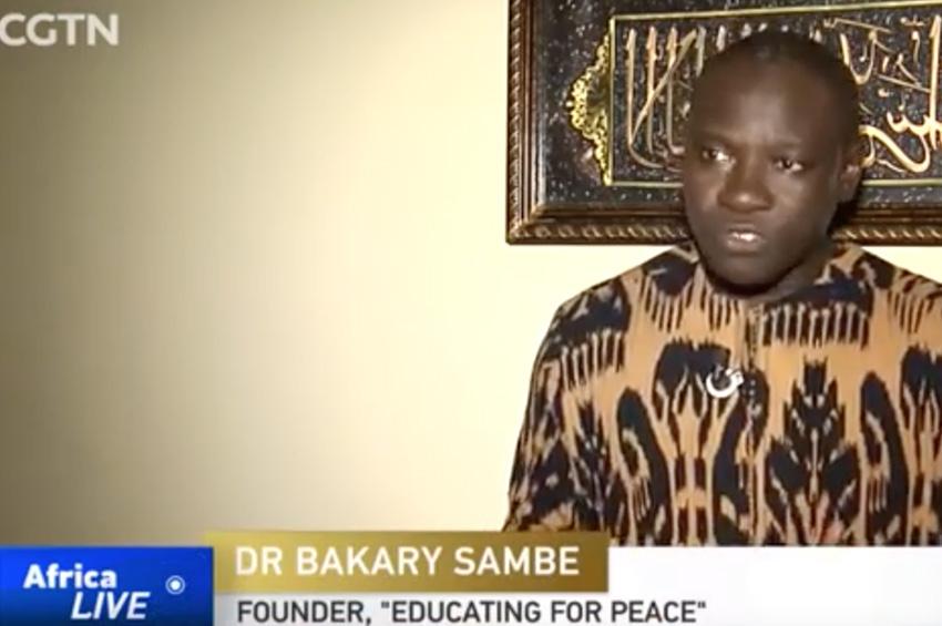 La télévision Chinoise salue l'innovation sénégalaise en matière de prévention de l'extrémisme violent