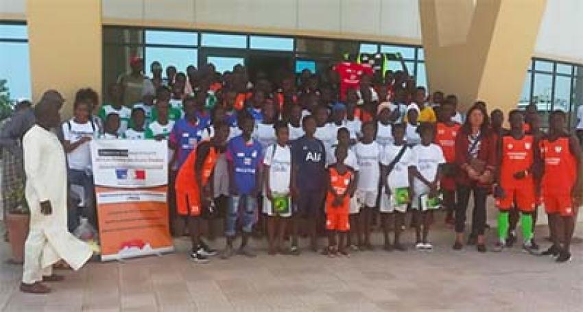Cérémonie de clôture du projet intitulé «OSC et associations sportives du Sénégal pour une culture de la paix et contre la violence»