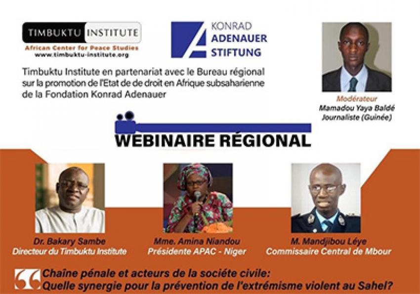 """Lutte contre le terrorisme : """"le respect de l'Etat de droit est une condition pour la crédibilité des stratégies"""" (Bakary Sambe)"""